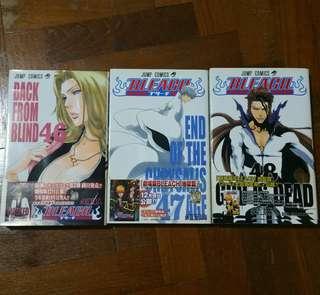 Bleach Manga Vol. 46, 47, 48 (JPN version)
