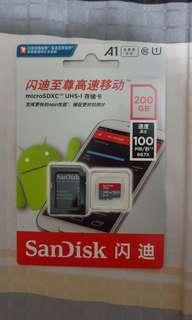 SanDisk 200gb micro SD