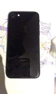 iPhone 7 128gb 亮黑 jet black