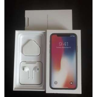 【香港行貨95%新】APPLE Iphone X 64GB Space Gray 灰色 【齊全套盒+4月出】