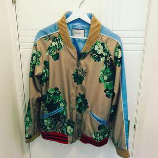 Gucci silk runway jacket