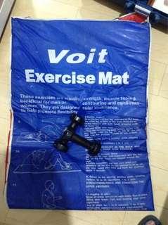 EXERCISE MAT & 2 DUMBELLS