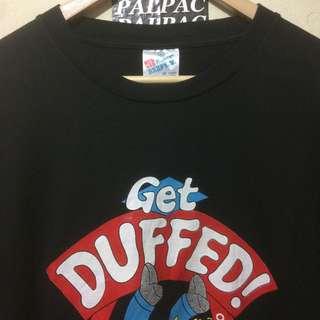 Ts Duff Beer 'Homer inside' Get Duffed! Sz L Hanes Beefy