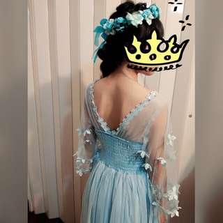 藍色系長禮服