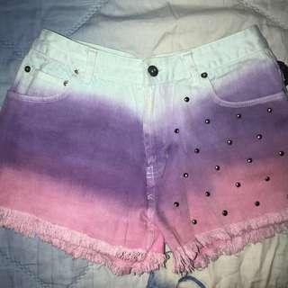 Ombre Hotpants