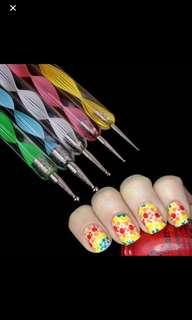 💄💎Nail dotting tools