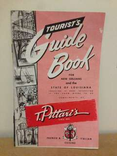 Tourists Guidebook for New Orleans and the state of Louisiana