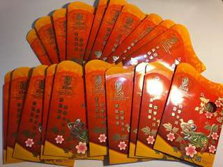 Bulk Sale- 20 sets of Singapore 2008 Rat Angbao coin sets