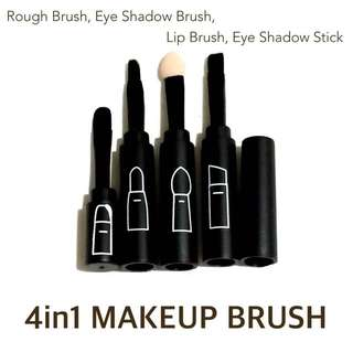 4 in 1 Makeup Brush Set