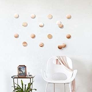 Umbra Confetti Dots Home Decor 2pk