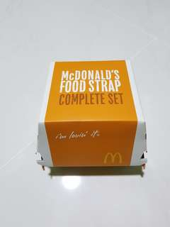 Macdonalds food strap figurine RARE