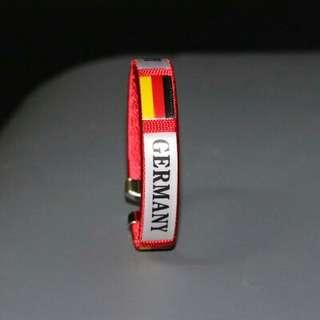 🚚 2018世界盃足球手環腕帶紀念品-德國