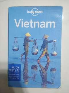Lonely Planet Vietnam Travel Book - Mint Condition