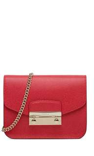 Furla Julia mini- ruby