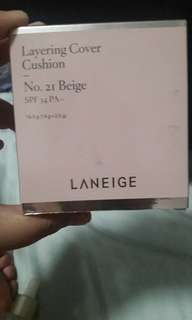 LANEIGE LAYERING COVER CUSHION no. 21 beige