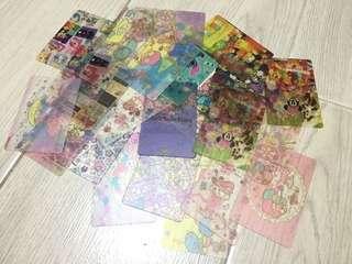 卡 紙膠帶 分裝卡 25張 不散賣