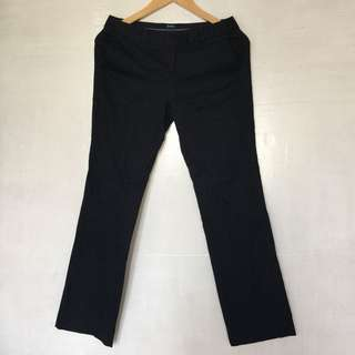 GAP OFFICE PANTS STRAIGHT CUT, HIGH WAIST 28 INCHES