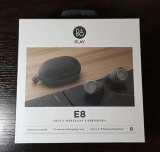 B&O Play - Beoplay E8 Wireless Earphones (Charcoal Sand)