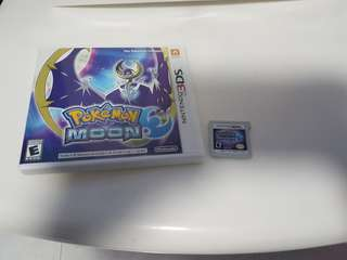 [Sale]Pokemon Moon 3DS Game {Info below}