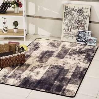 🚚 歐式地毯客廳沙發茶几墊簡約現代美式書房臥室床邊滿鋪地毯可定制
