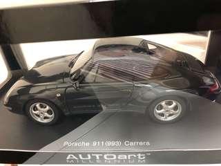 auto art 1/18 Porsche green