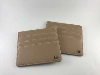 Card Wallet 6 slot Mocca
