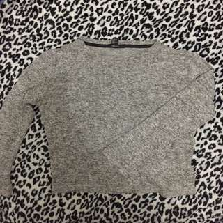 KNITTED CROPPED SWEATER
