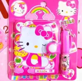 Hello kitty notebook set