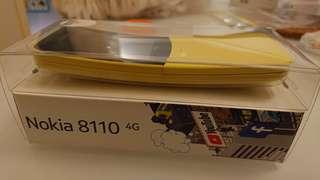 100% 全新未開封 unopened Nokia 8110 4G 黃色