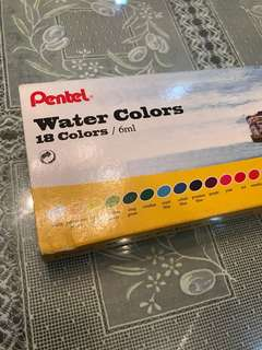 Pentel Water Colors (18 Colors)