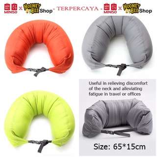 Japan Quality - Bantal U Shaped Pillow Bentuk U Miniso