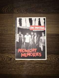 1D midnight memories album