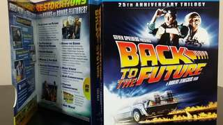 Back To The Future 25th Anniversary Triology (Blu-Ray + Digital Copy)