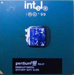 intel CPU pentium III 500