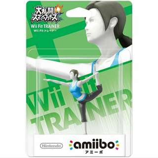 Nintendo Amiibo Wii Fit Trainer Super Smash Bros.Series Figure