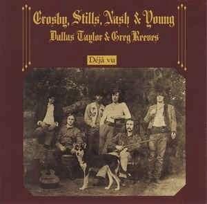 arthcd CSNY (CROSBY, STILLS, NASH & YOUNG) Deja Vu Germany Press CD