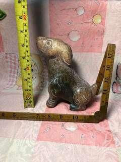 品味玉石雕件重1.6公斤