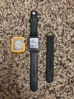 Apple Watch series 1 42mm 霧灰色