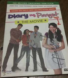 SIGNED Diary Ng Panget The Movie DVD signed by Jadine and Yassi and Andre