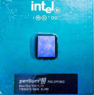 intel CPU pentium III 866