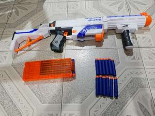 Nerf Retaliator + another extra 30 rounds bullet
