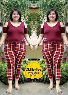 Alicia Plus Size Terno