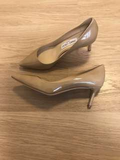 New Jimmy Choo Romy 60 heels shoes 高跟鞋