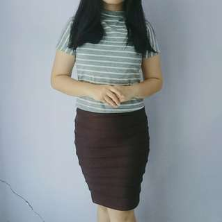 Rok Span, Pencil Skirt