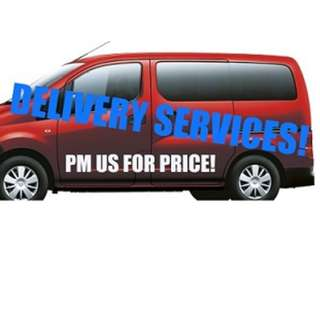 DELIVERY SERVICES/PARCEL DELIVERY/FOOD DELIVERY