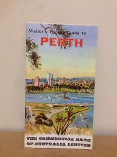1960's Visitors Guide to Perth CBA Bank