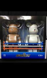 Bearbrick boxing set 400%