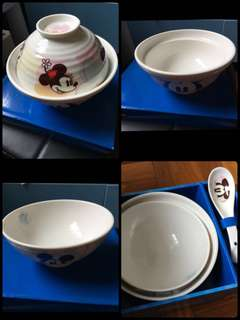 米奇飯碗湯碗Set(1套3件)
