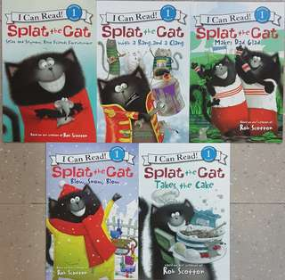 BN I Can Read! Level 1 Set B: Splat the Cat (5 books for $18)