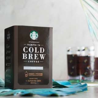 🆕Starbucks® Cold Brew Coffee Pitcher Packs